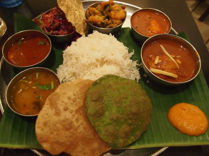 昨日のフランス料理を超えた 南インド料理 ダバインディア (Dhaba India)_f0062122_1574475.jpg