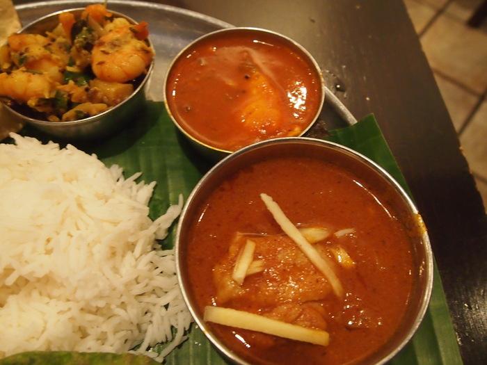 昨日のフランス料理を超えた 南インド料理 ダバインディア (Dhaba India)_f0062122_217382.jpg