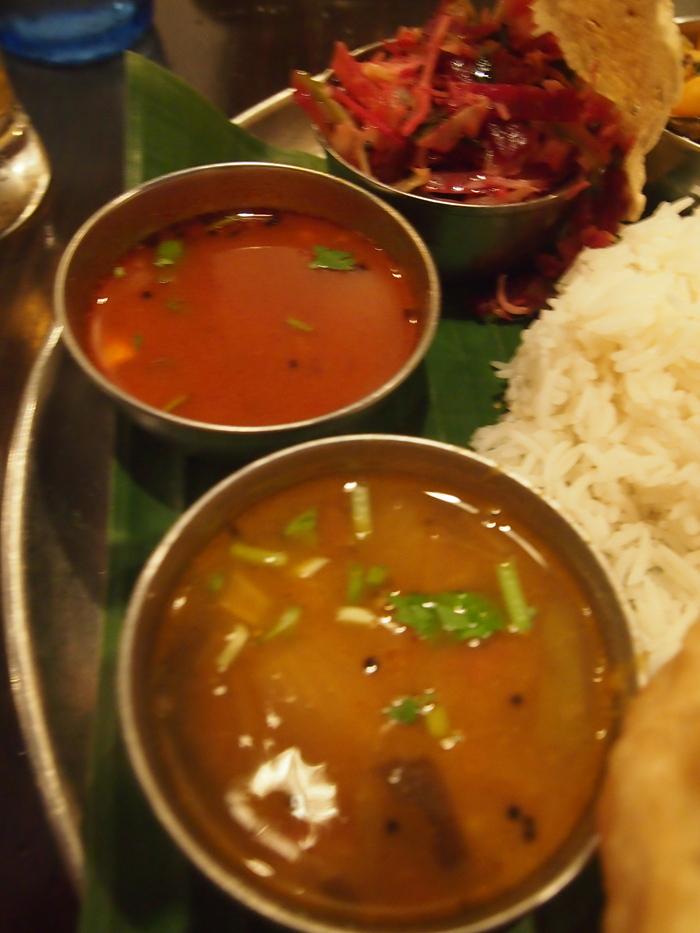 昨日のフランス料理を超えた 南インド料理 ダバインディア (Dhaba India)_f0062122_2232023.jpg