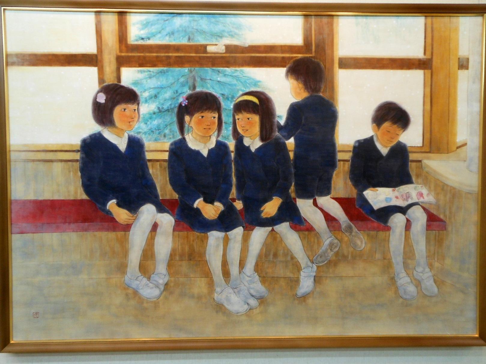 1773)②「北の日本画展 第27回」 時計台 終了5月21日(月)~5月26日(土)_f0126829_20545841.jpg