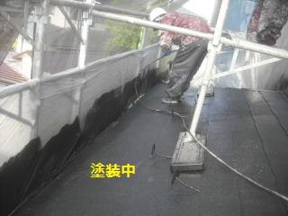 塗装工事11.5日目_f0031037_18304860.jpg