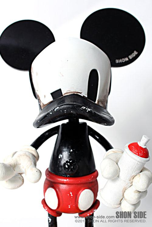 留之助限定Cap Duck Mouse、進捗_a0077842_9521454.jpg