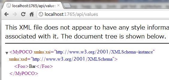 ASP.NET Web API - シリアライズ結果が必ず JSON になってしまう_d0079457_2240342.png
