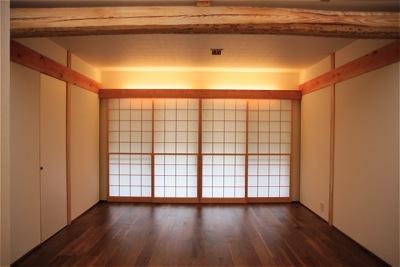 「聖蹟桜ヶ丘の家」雪見障子_f0230666_9312278.jpg