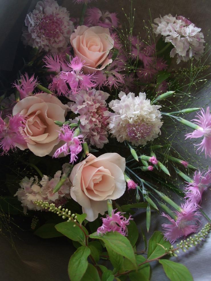 オークリーフ(母の日に贈る花束)_f0049672_16221793.jpg