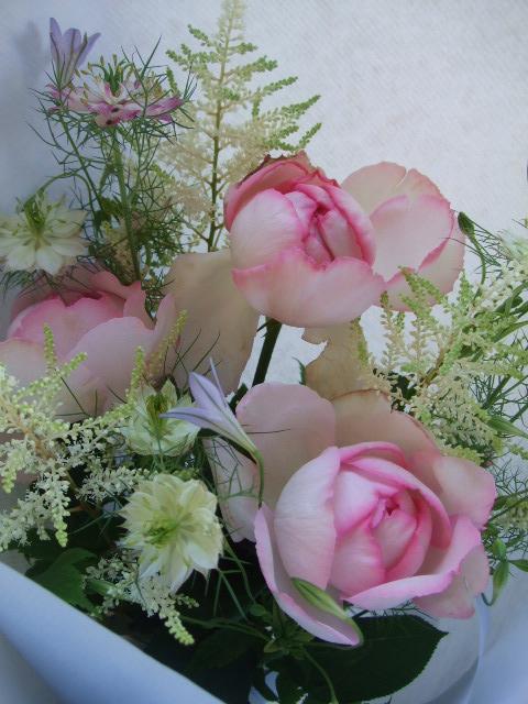 オークリーフ(母の日に贈る花束)_f0049672_16223989.jpg