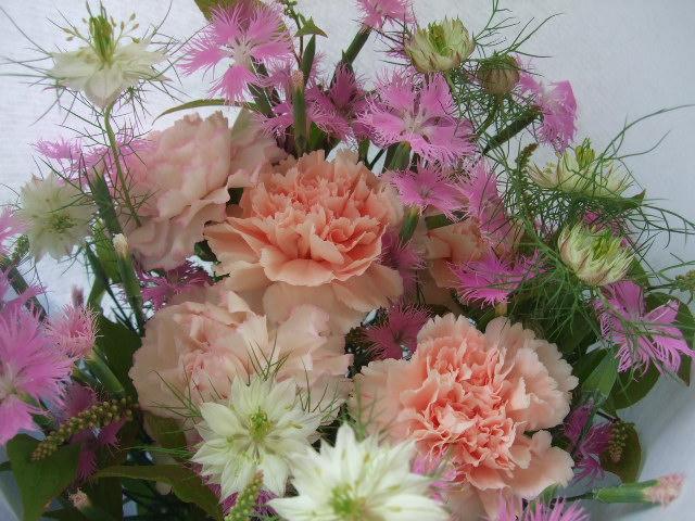 オークリーフ(母の日に贈る花束)_f0049672_16225850.jpg