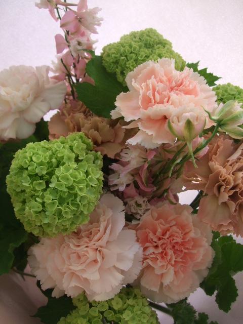 オークリーフ(母の日に贈る花束)_f0049672_16232628.jpg