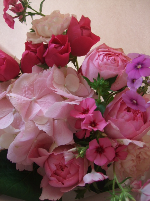 オークリーフ(母の日に贈る花束)_f0049672_16242767.jpg