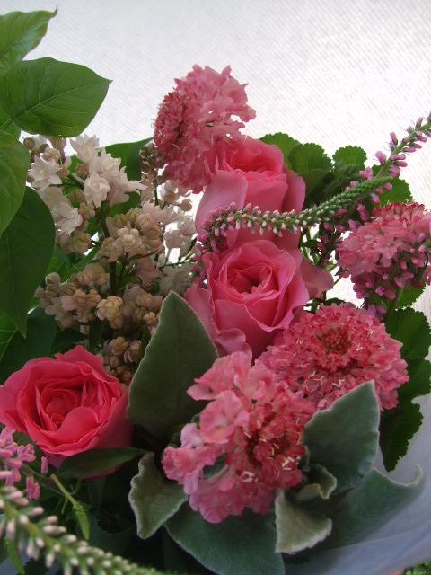 オークリーフ(母の日に贈る花束)_f0049672_16244683.jpg