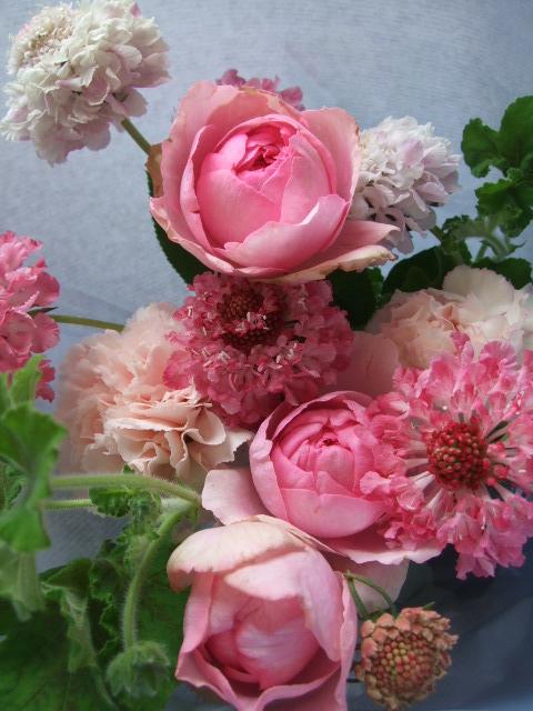 オークリーフ(母の日に贈る花束)_f0049672_16245663.jpg