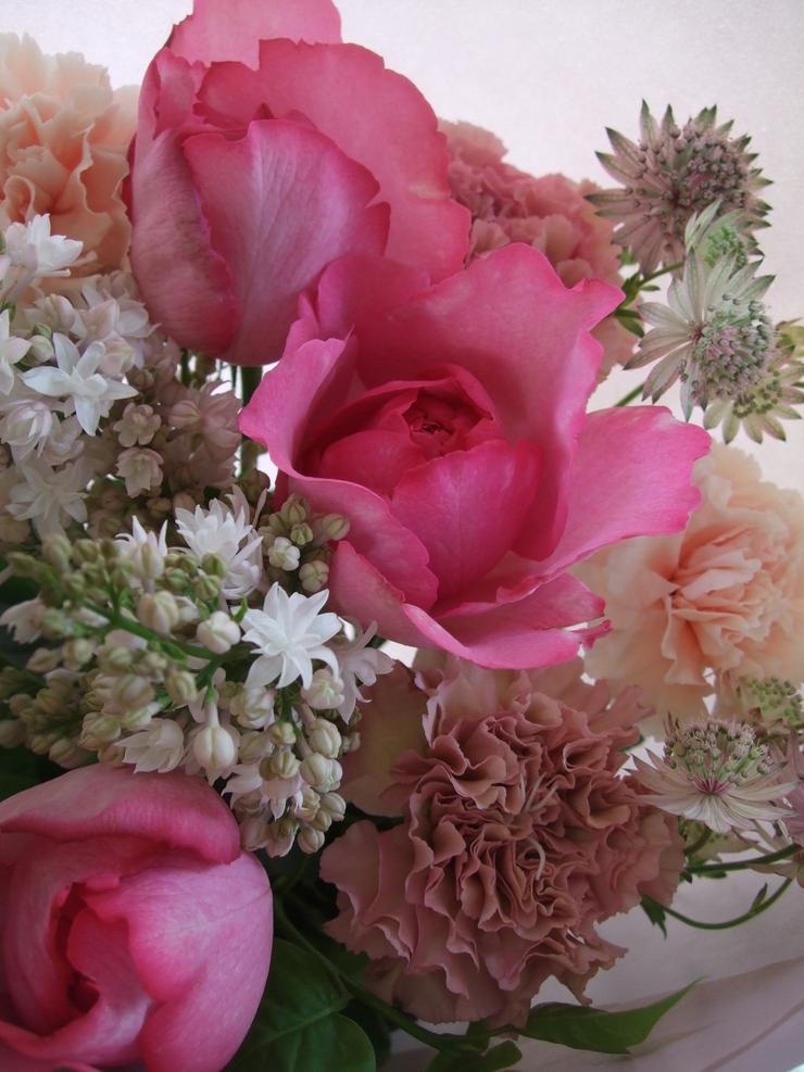 オークリーフ(母の日に贈る花束)_f0049672_1625663.jpg