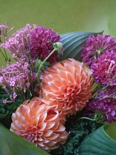 オークリーフ(母の日に贈る花束)_f0049672_16304596.jpg