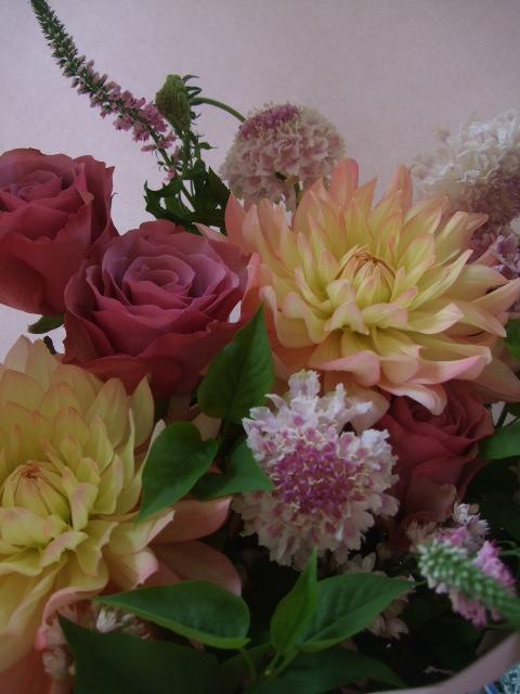 オークリーフ(母の日に贈る花束)_f0049672_16311442.jpg
