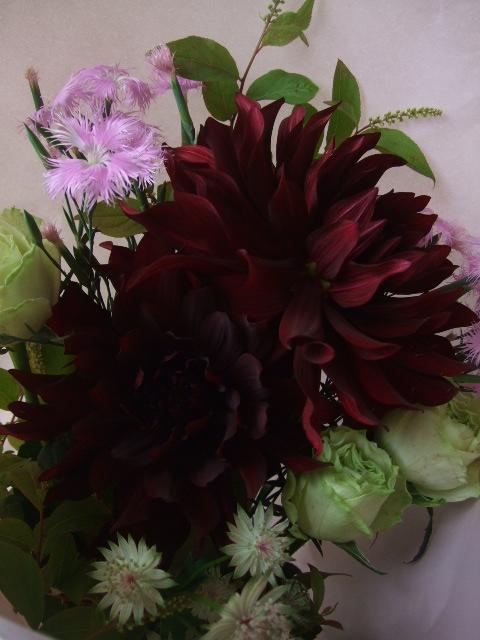 オークリーフ(母の日に贈る花束)_f0049672_1631436.jpg