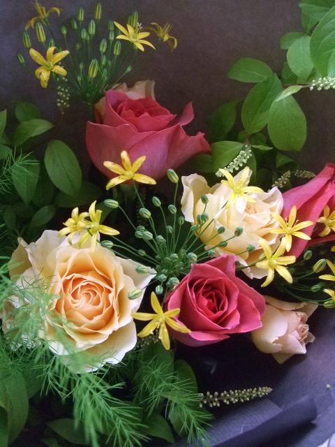 オークリーフ(母の日に贈る花束)_f0049672_16331467.jpg
