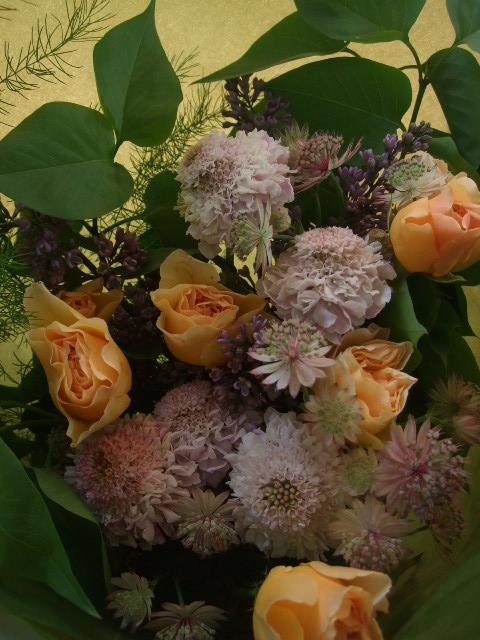 オークリーフ(母の日に贈る花束)_f0049672_16333184.jpg