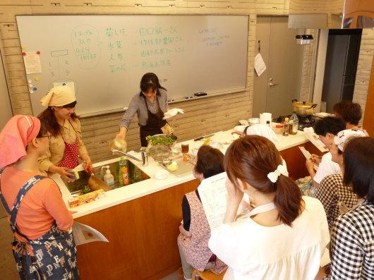 mama\'s cafe vol.9 ~ 『ゆりぷらざ料理教室編』開催しました_e0188574_10501323.jpg