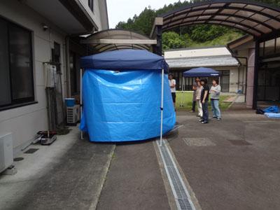 防災訓練を実施しました。_a0154110_1540983.jpg