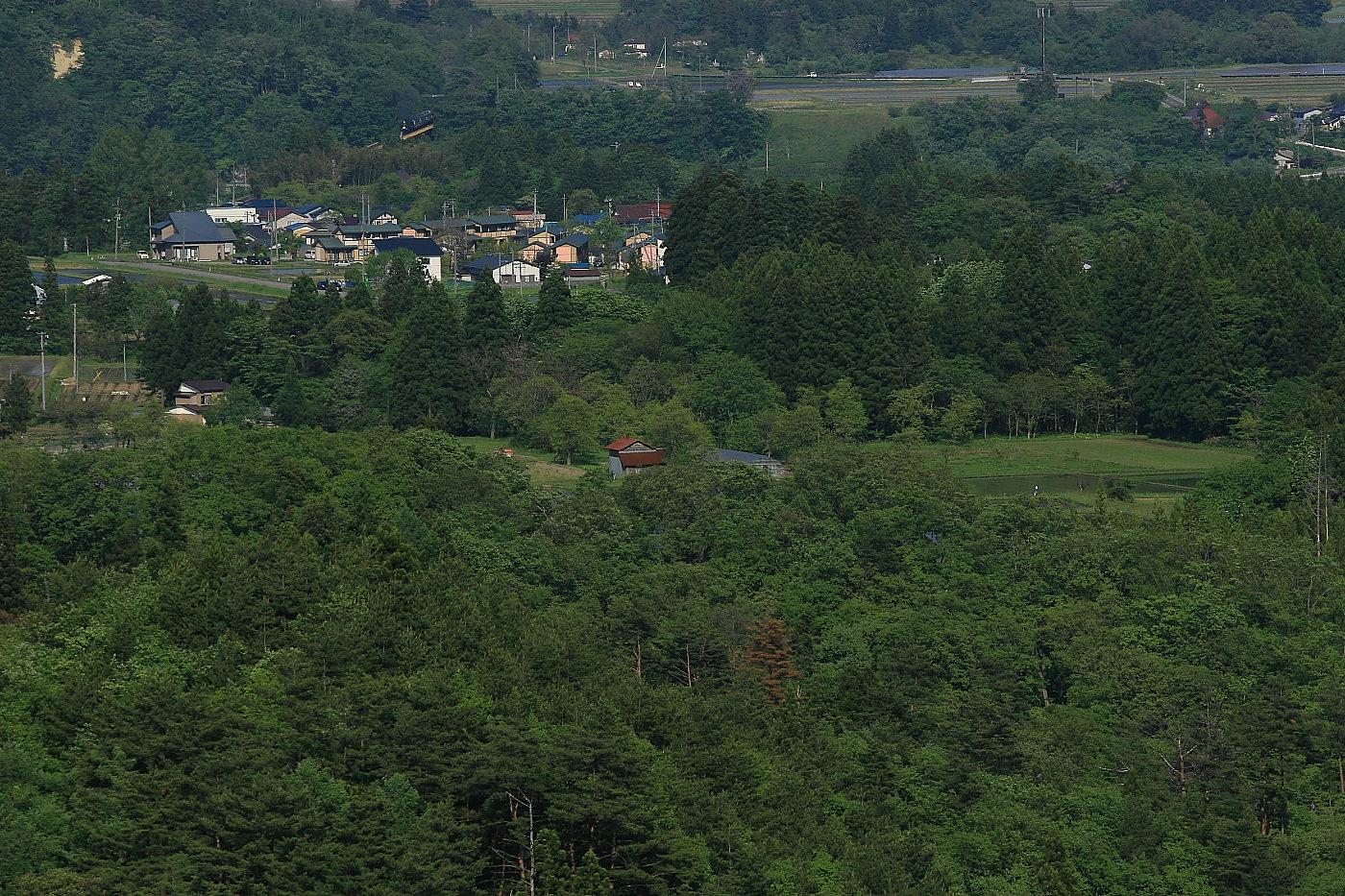 森の中の黄色い鉄橋 - 2012年・磐西 -_b0190710_21534616.jpg