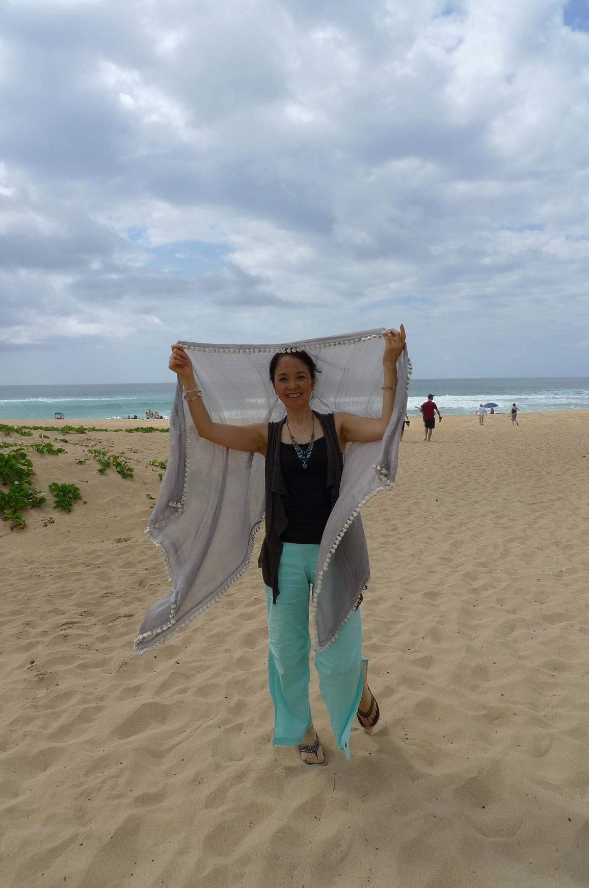 宇宙のビーチと癒しのビーチ in Hawaii_f0095325_21122117.jpg