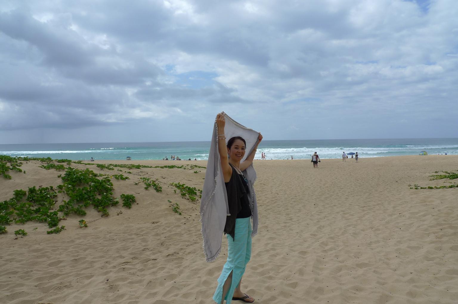 宇宙のビーチと癒しのビーチ in Hawaii_f0095325_2112457.jpg