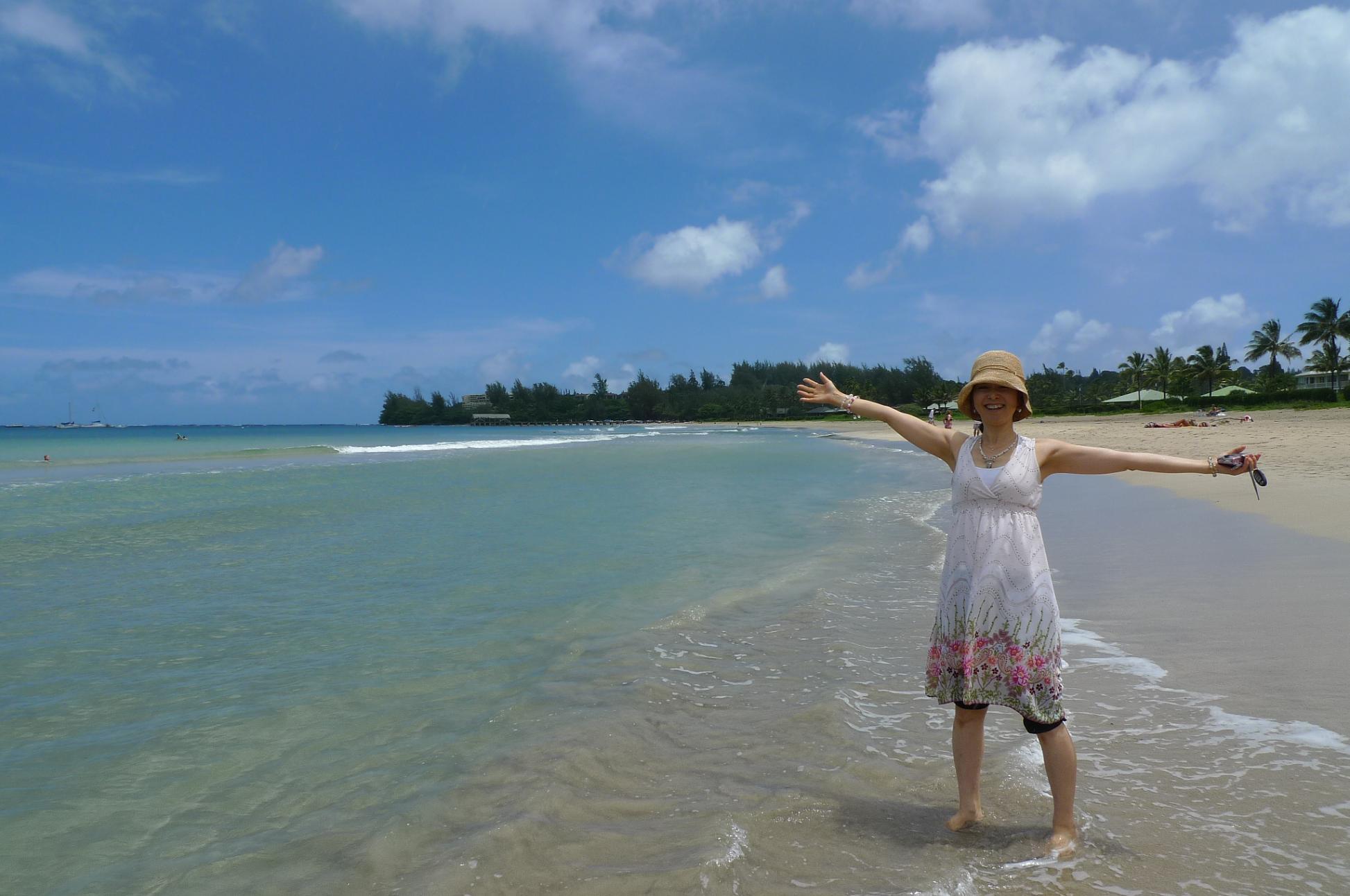 宇宙のビーチと癒しのビーチ in Hawaii_f0095325_21152299.jpg