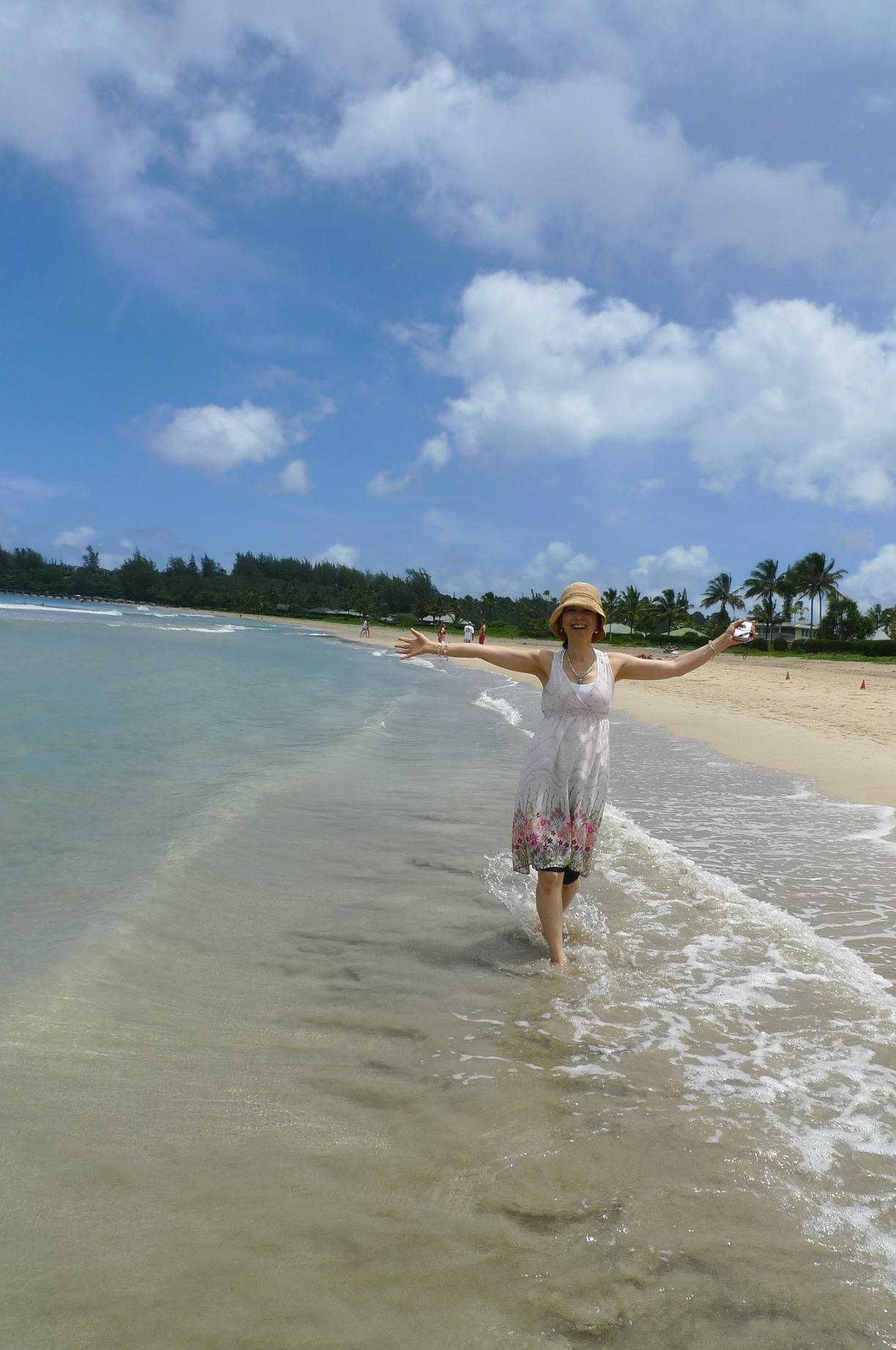 宇宙のビーチと癒しのビーチ in Hawaii_f0095325_21161447.jpg