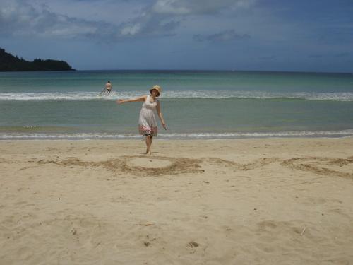 宇宙のビーチと癒しのビーチ in Hawaii_f0095325_21174542.jpg
