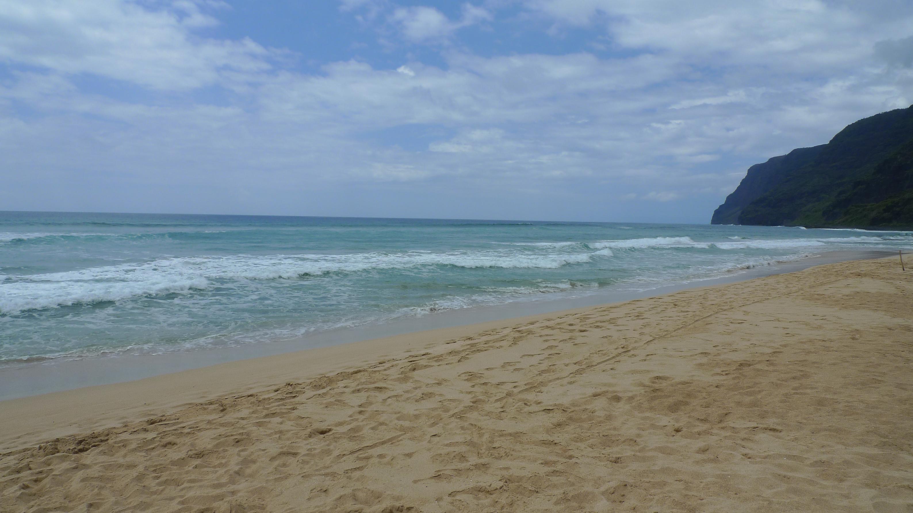 宇宙のビーチと癒しのビーチ in Hawaii_f0095325_2182174.jpg
