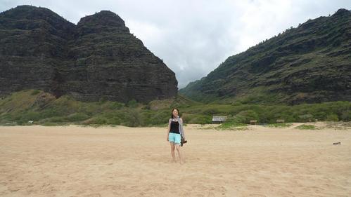 宇宙のビーチと癒しのビーチ in Hawaii_f0095325_219316.jpg