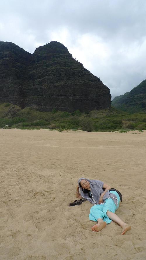 宇宙のビーチと癒しのビーチ in Hawaii_f0095325_2195812.jpg