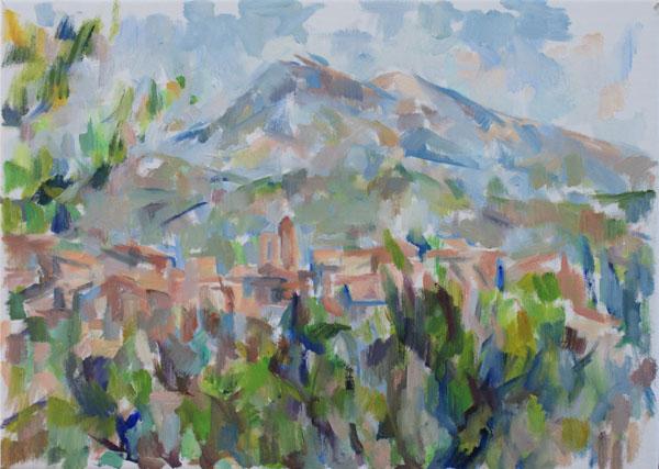 バルーの村とヴァントゥー山(第一段階)_c0236929_19424465.jpg