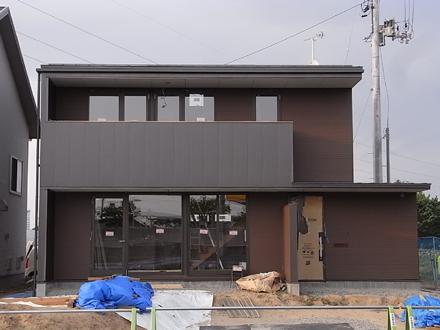 『横塚の家』 足場が外されました。_e0197748_11434676.jpg