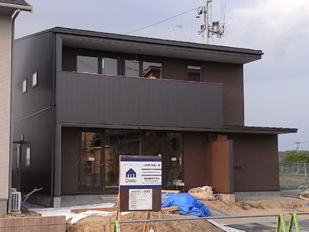 『横塚の家』 足場が外されました。_e0197748_11435422.jpg