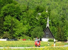 Mittenwald フレスコ画が鮮やかな町ミッテンヴァルト_e0195766_5261026.jpg