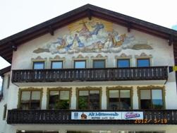 Mittenwald フレスコ画が鮮やかな町ミッテンヴァルト_e0195766_527418.jpg