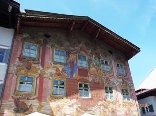 Mittenwald フレスコ画が鮮やかな町ミッテンヴァルト_e0195766_536559.jpg