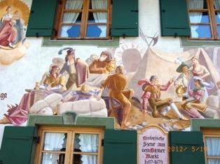 Mittenwald フレスコ画が鮮やかな町ミッテンヴァルト_e0195766_5381872.jpg