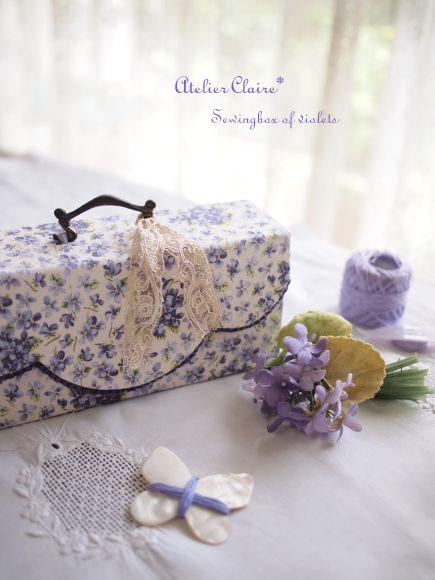 Sewingbox of violets完成しました♪_a0157409_8202552.jpg