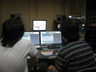 pmアルバム制作中&新人バンドもREC中_e0123412_2201456.jpg