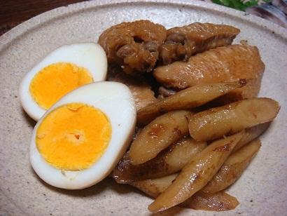 鶏手羽と新ゴボウの梅煮_f0000925_2116550.jpg