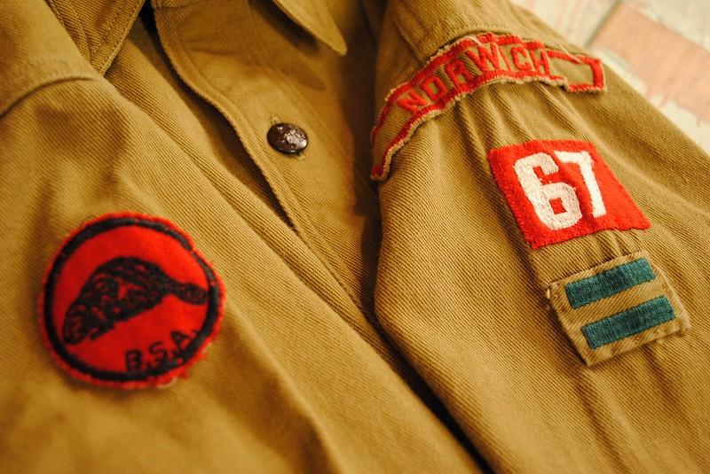 OLD BOYSCOUT SHIRTS  -姫路SUNRAYS-_f0233425_13502186.jpg
