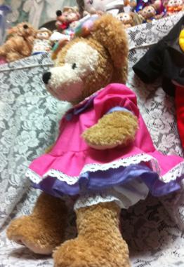 デイジー風のシェリーメイ衣装作った_c0036138_0131557.jpg