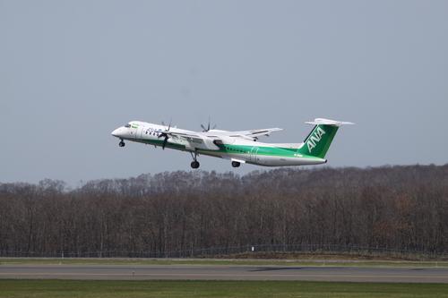退役間近のMD90と緑のANA機 5月31日_f0113639_1825997.jpg