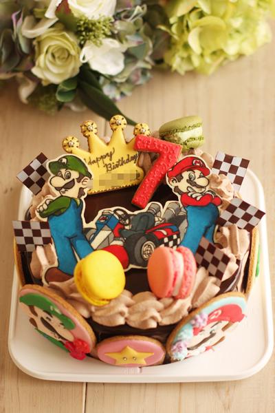 マリオカートのお誕生日ケーキ_f0149855_5275163.jpg