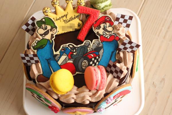 マリオカートのお誕生日ケーキ_f0149855_5461312.jpg