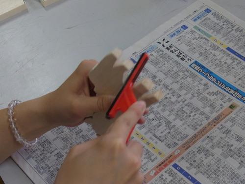 造形美術概論 5月31日の授業 やすりがけ_e0201681_17122397.jpg