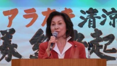県議選挙へ連日の総決起集会_f0150886_1085675.jpg