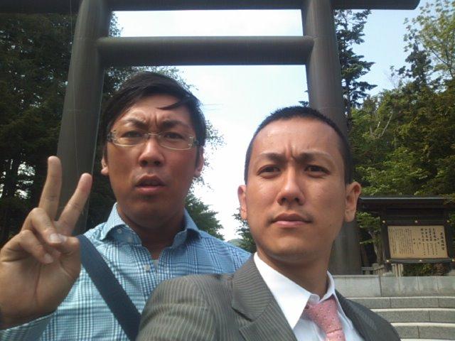 ランクルトミー札幌店(^o^)月初神宮参拝ミーティング!_b0127002_9295218.jpg